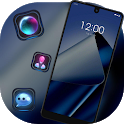 Business smooth elegant blue cool theme A3S icon