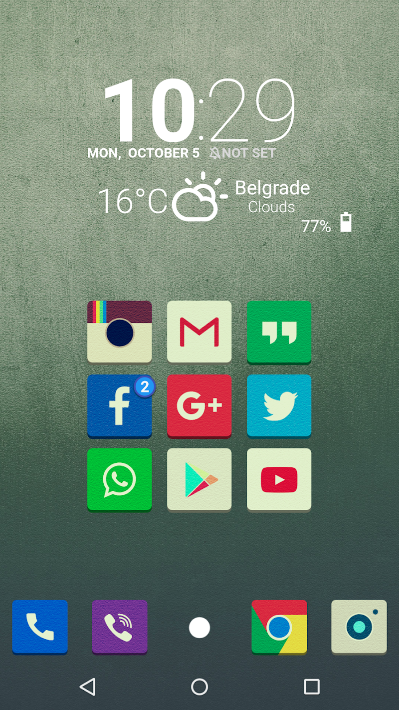 Tenex - Icon Pack Screenshot 2