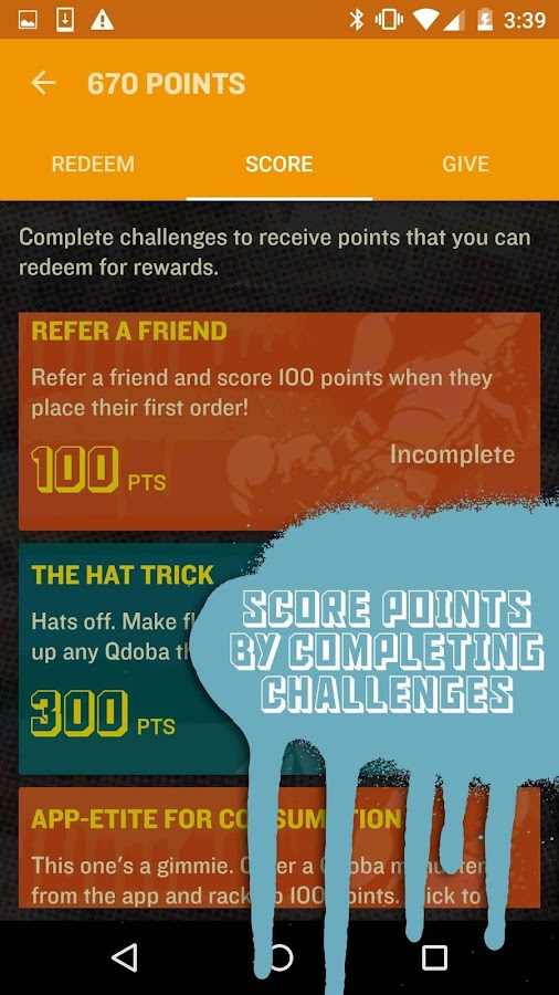 QDOBA Rewards- screenshot