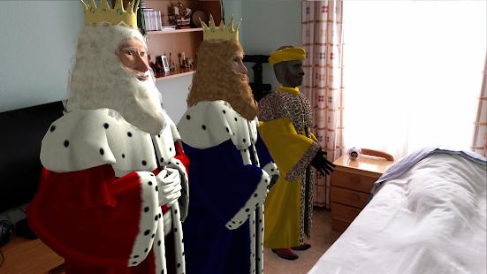 Reyes Magos Realidad Aumentada - náhled
