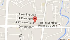 google map, kranggan soto sampah yogyakarta. paket wisata jogja, paket honeymoon jogja, paket tour jogja