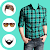 Man Check Shirt Photo Suit file APK for Gaming PC/PS3/PS4 Smart TV