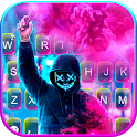 Smoke Purge Mask Keyboard Theme icon