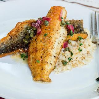 Pan- Fried Sea Bass Recipe