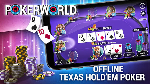 Poker World - Offline Texas Holdem  gameplay | by HackJr.Pw 6