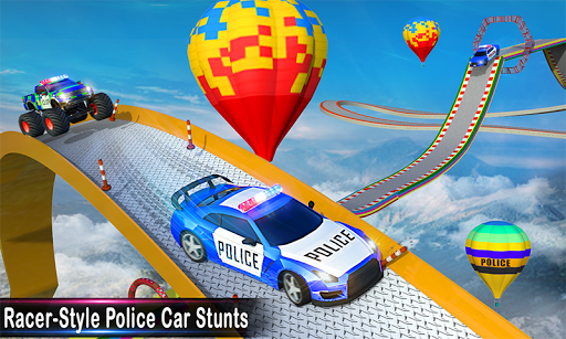Police Ramp Car Stunts GT Racing Car Stunts Game 1.3.0 screenshots 1