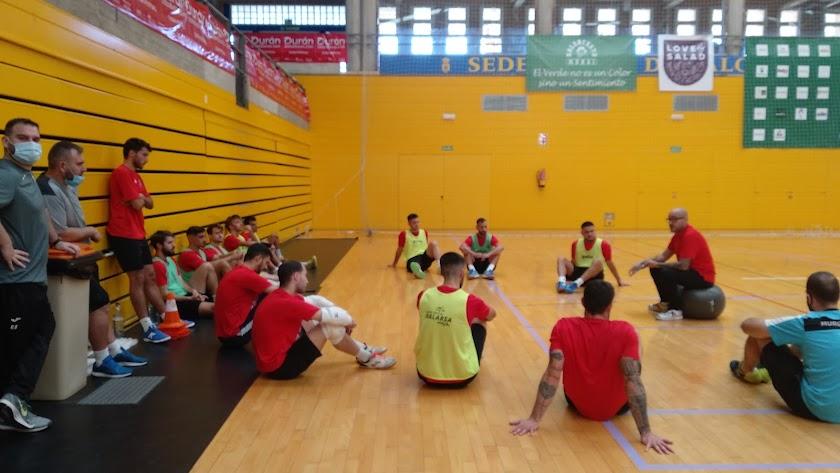Entrenamiento Durán Ejido Futsal.