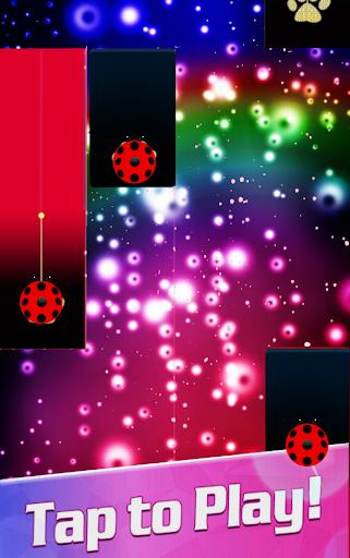 Piano Ladybug Noir Tiles 7 screenshots 5