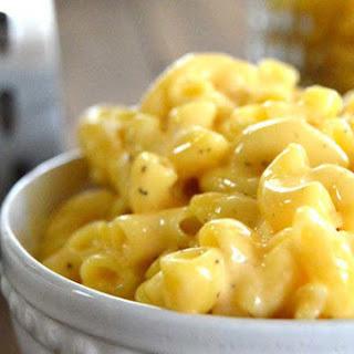 Super Creamy Stove Top Macaroni & Cheese.