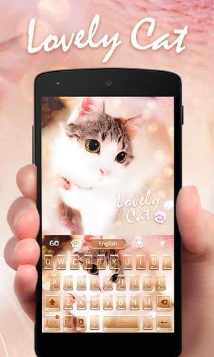 Lovely Cat Keyboard Theme