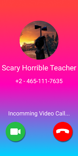 Scary Siren Head Call Video Prank screenshot 2