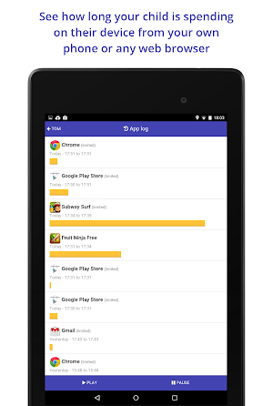 10 Screen Time Parental Control App screenshot
