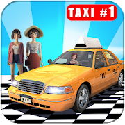 Crazy taxi cabs pick and drop game for girls