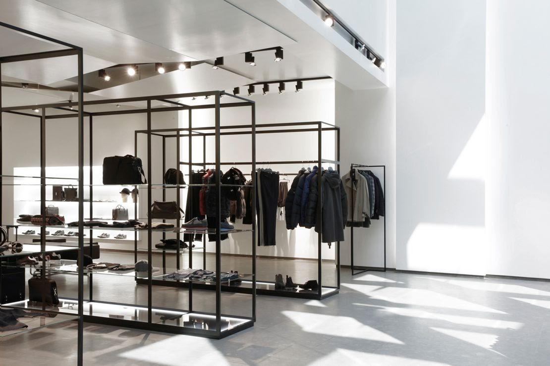 Thiết kế shop thời trang nam rẻ