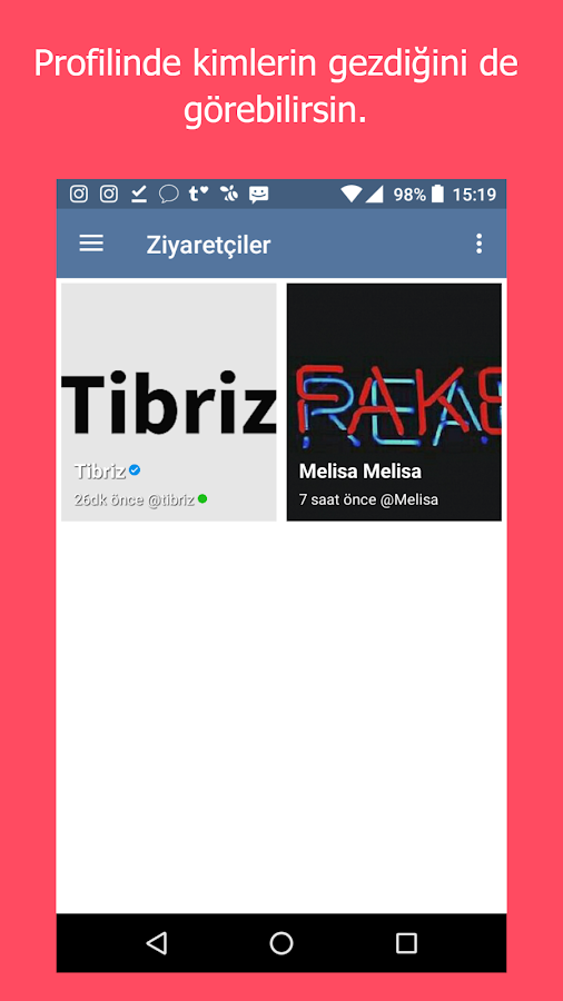Tibriz- screenshot