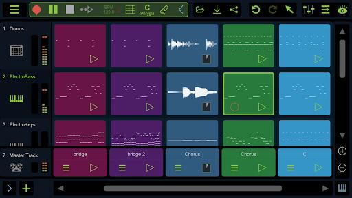 Stagelight: Audio and MIDI DAW 4.0.8 screenshots 1
