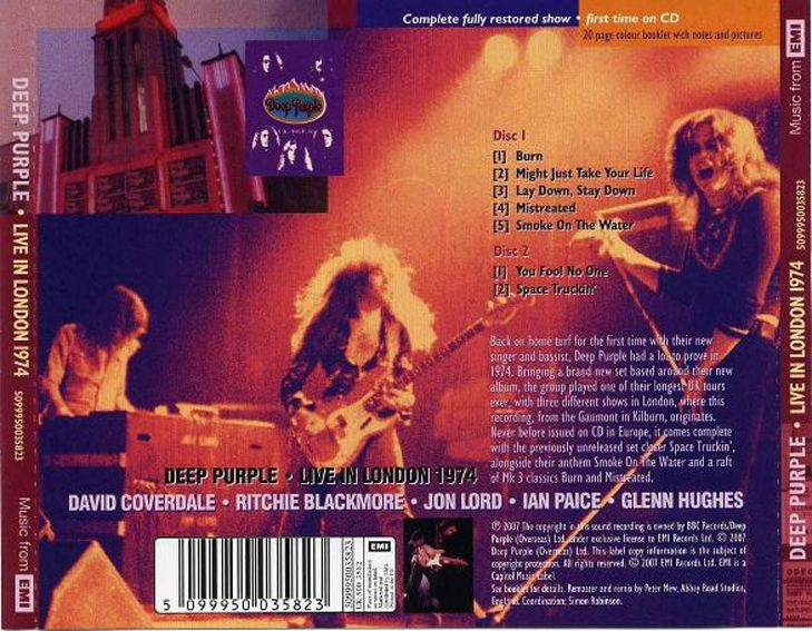 Live In London - 1974