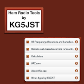 Ham Radio Tools by KG5JST-Free