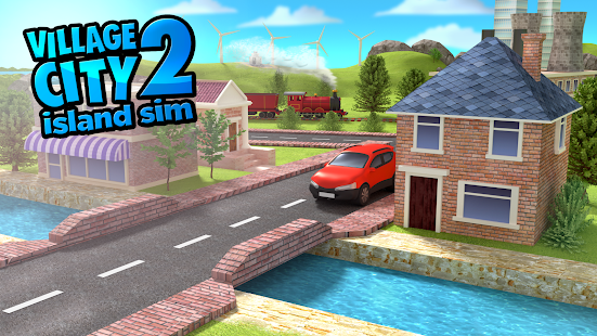 Village City Island Sim 2 Paradise Town Simulation- screenshot thumbnail