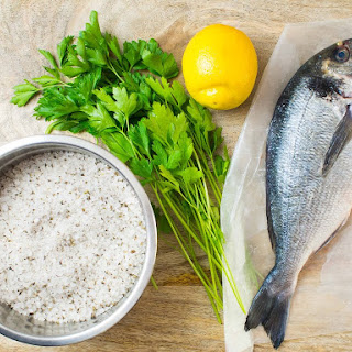 Easy Recipe, Whole Fish Baked In A Salt Crust With Herbs