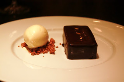 Chocolate Bar dessert at Dinner by Heston Blumenthal restaurant in London