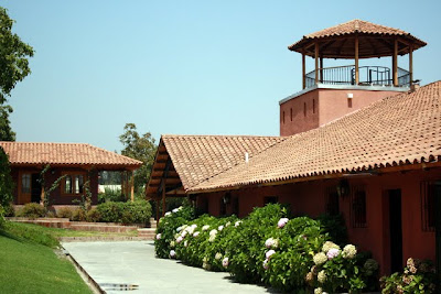 Aquitania winery on a tour in Chile