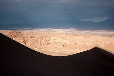 Death Valley in the Atacama Desert in Chile