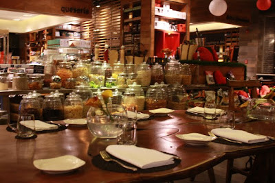 Coquinaria shop and restaurant in Santiago Chile