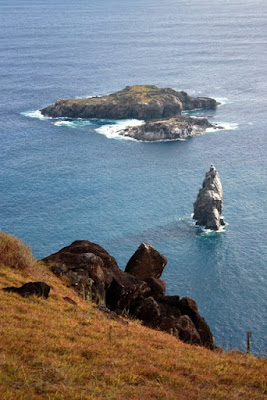 Islands off Easter Island