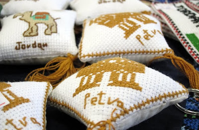 Petra cushions at the ITB Berlin Travel Trade Show in Germany