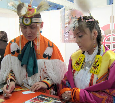 Native Americans at the ITB Berlin USA Pavilion