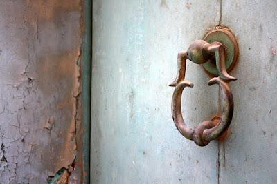 Door handle in Mdina Malta
