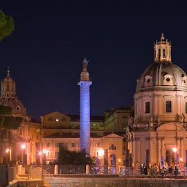 Trajan's Forum by Alexander Kaplya - Buildings & Architecture Public & Historical (  )