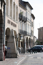 Photo: Day 22 - Arched Buildings in the Town of Pont a Mousson