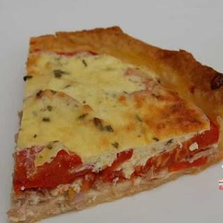 Tuna and Tomato Pie.