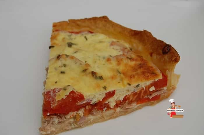 Tuna and Tomato Pie Recipe