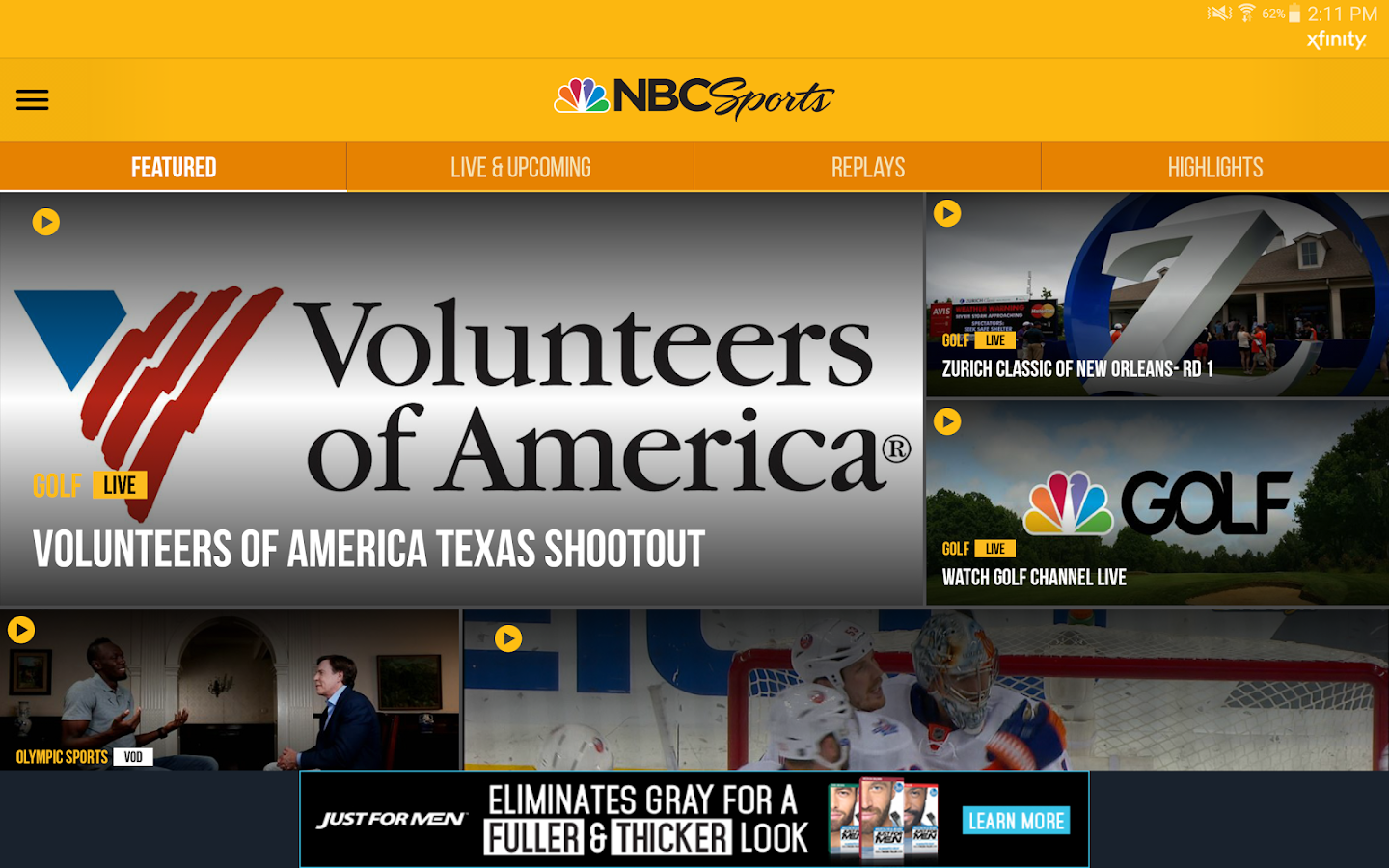 NBC Sports Live Extra- screenshot