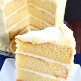 Zesty Lemon Cake.