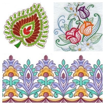 embroidery design patterns screenshot