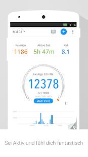 Schrittzähler & Abnehm Trainer Screenshot