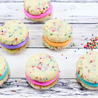 Rainbow Sprinkles Whoopie Pies.
