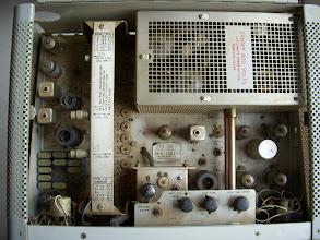 Photo: Inside the 32S-3 transmitter.