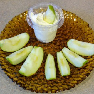 Marshmallow Cream Cheese Fruit Dip