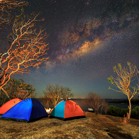 by I Komang Windu - Landscapes Starscapes ( beaches, long exposure, landscape, photography, milky way )