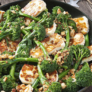Halloumi and Broccoli Salad
