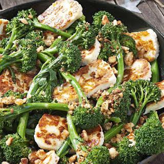 Halloumi and Broccoli Salad.