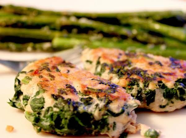 Turkey/chicken-spinach Burgers Recipe
