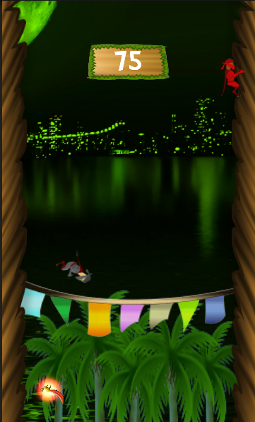 The Jungle Hero : Tree Climber- screenshot