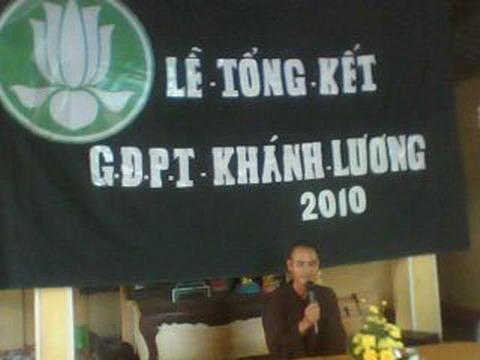 Lễ tổng kết sinh hoạt GĐPT Khánh Lương – 2010