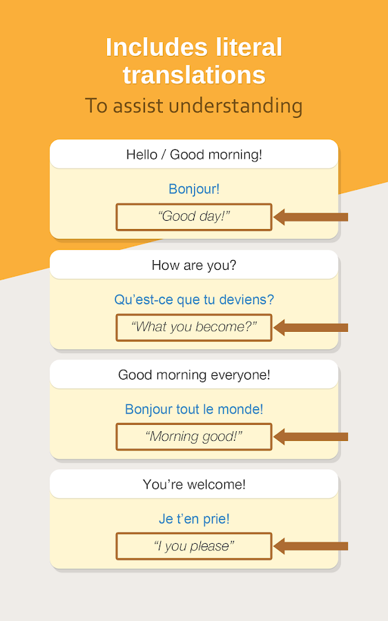 French Phrasebook – Learn Free- screenshot